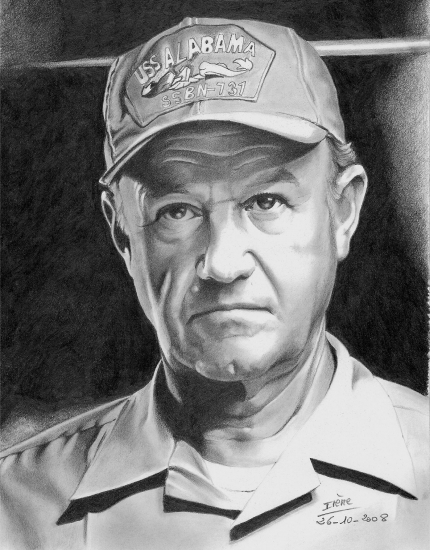 Gene Hackman by peggy